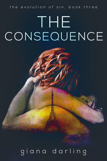 TheConsequence Book Cover Evolution of Sin Series Book 3