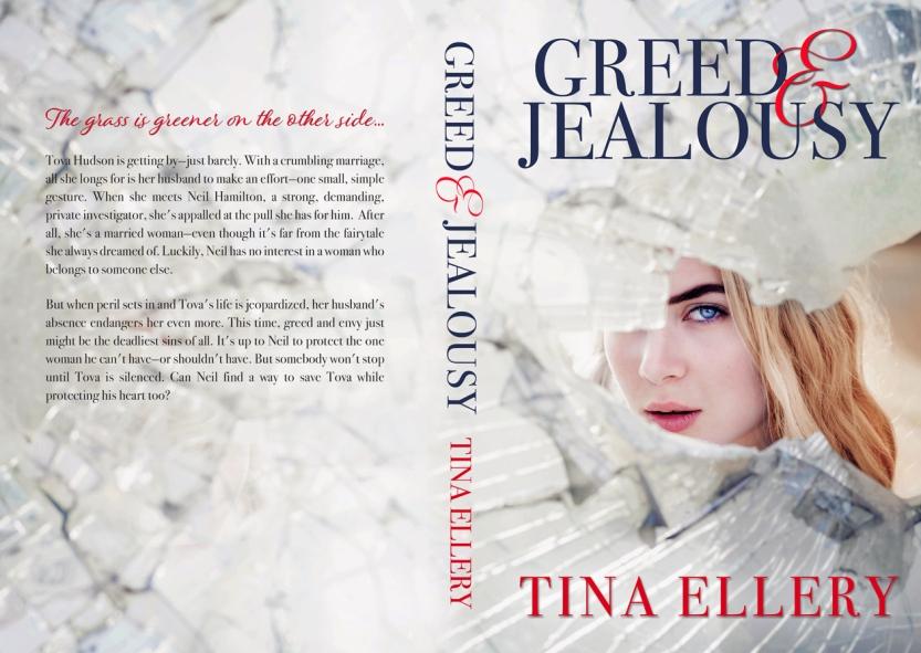 Greed-&-Jealousy-By Tina Ellery-Book Jacket