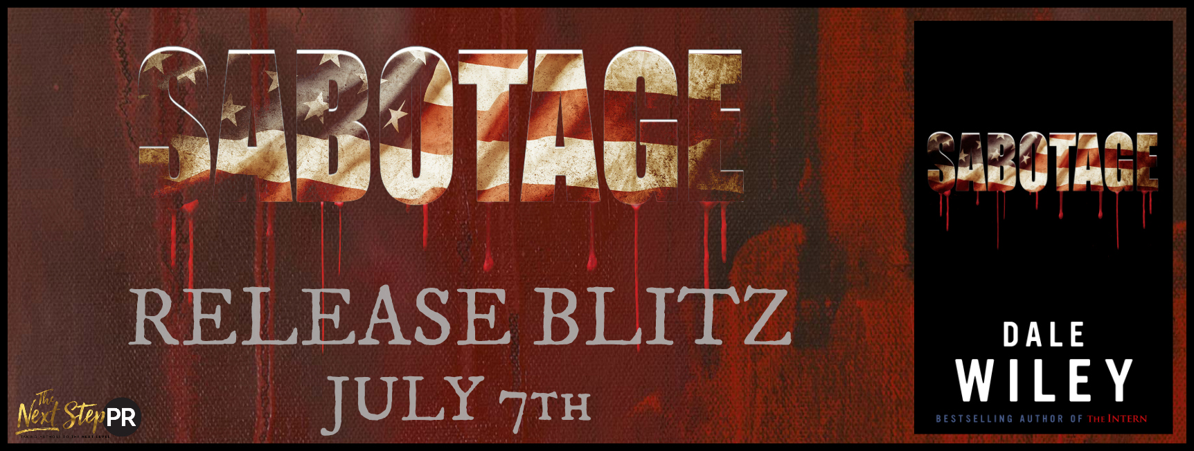 Release Blitz: Sabotage by Dale Wiley