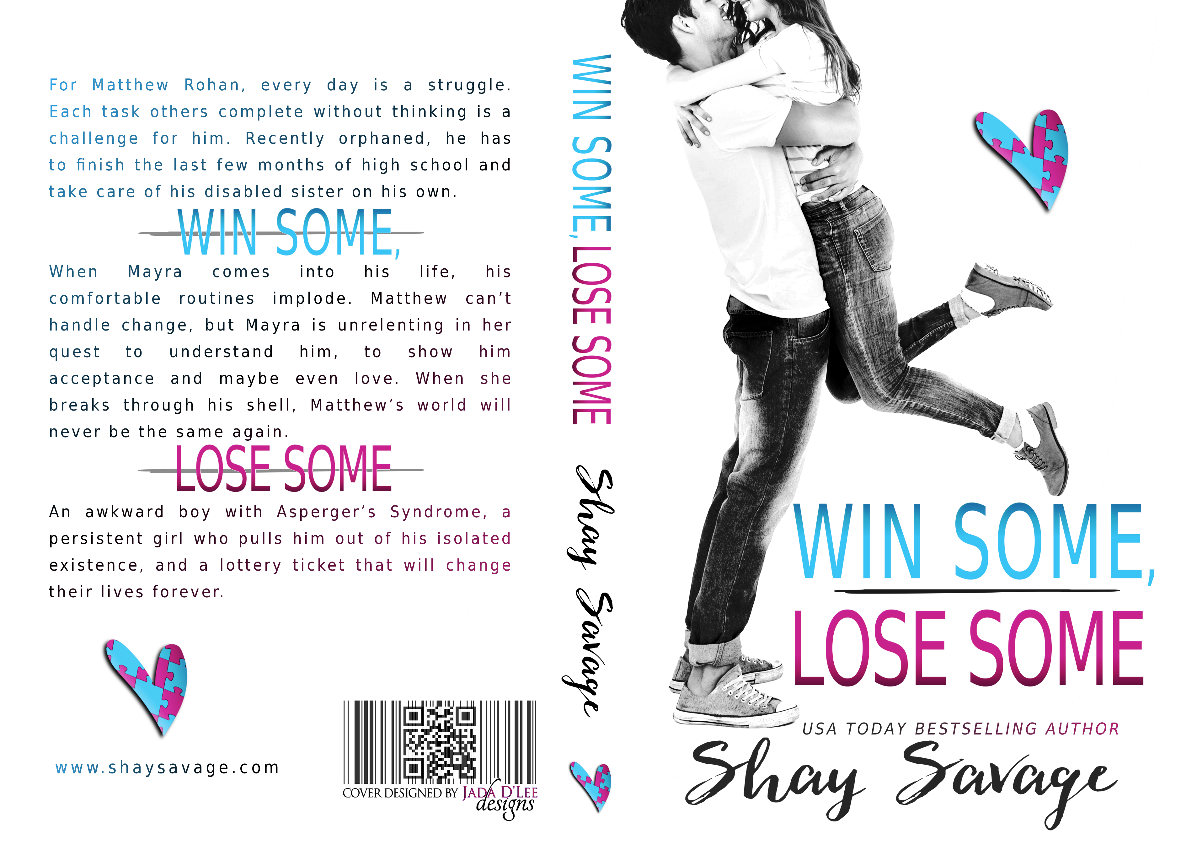 Cover Reveal: Win Some Lose Some by Shay Savage