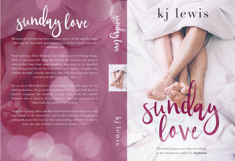 Cover Reveal: Sunday Love by KJ Lewis