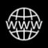 black icon-website