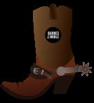 Cowboy Boot - B&N