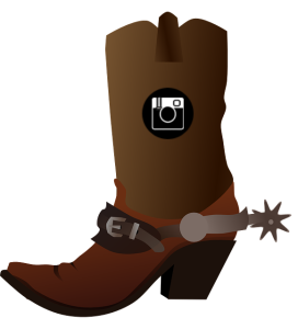 cowboy boot - instagram