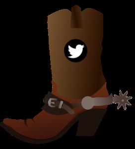 Cowboy Boot - Twitter