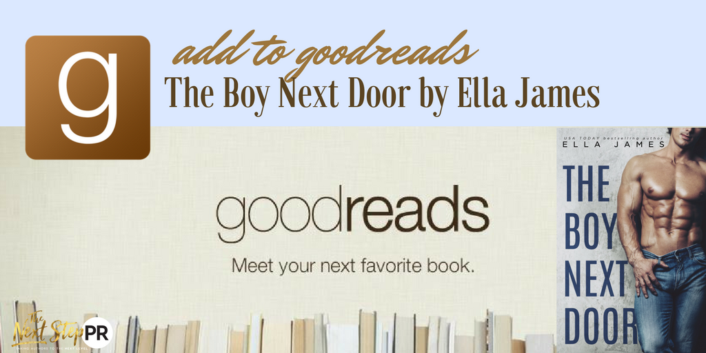 ADD TO GOODREADS TBND ELLA JAMES WITH COVER