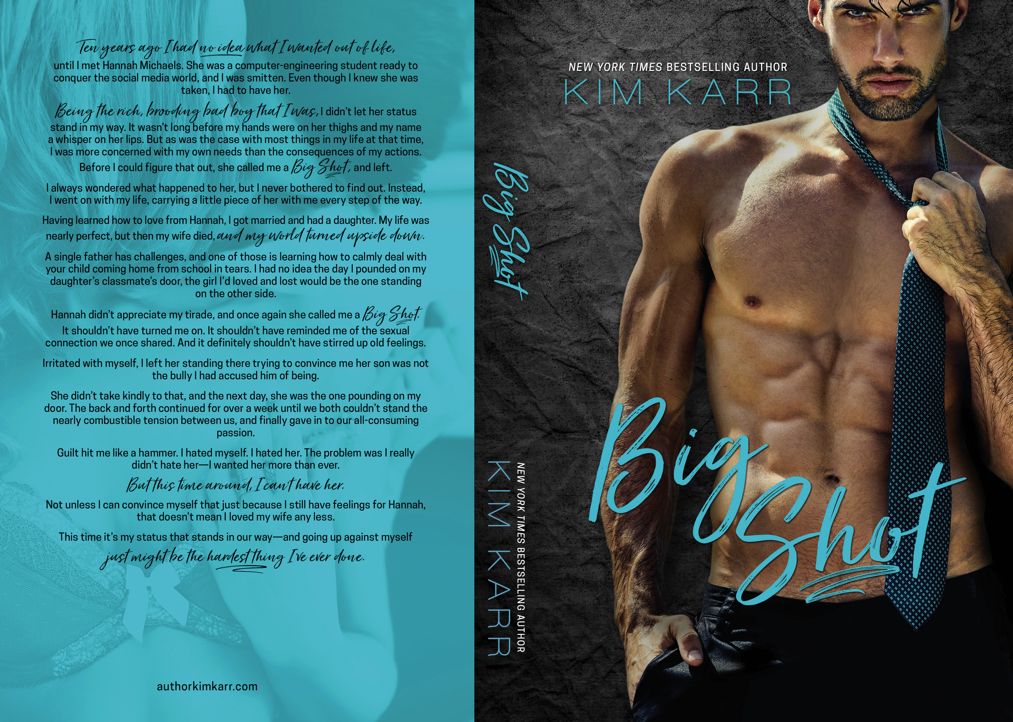 Big Shot by Kim Karr Cover Reveal