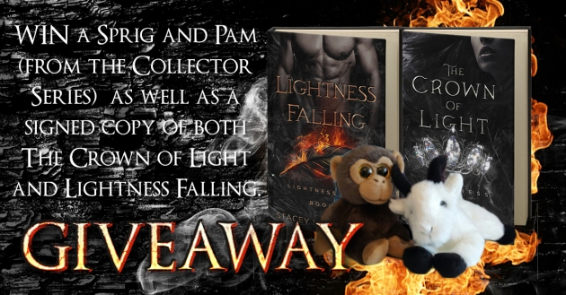 Lightness Falling Giveaway
