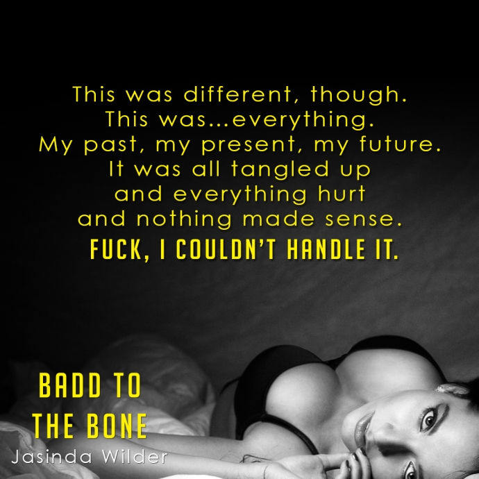 Release Day - Badd to the Bone