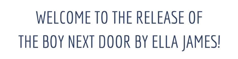 THE BOY NEXT DOOR - RELEASE