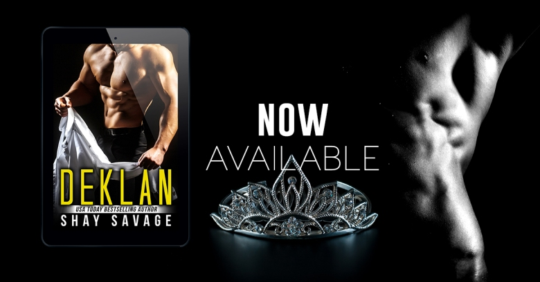 Deklan Shay Savage Available Now