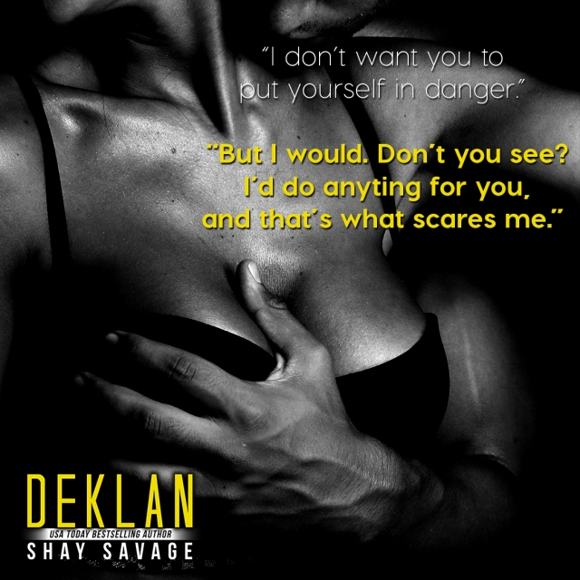 RELEASE DAY Deklan Shay Savage Teaser 5