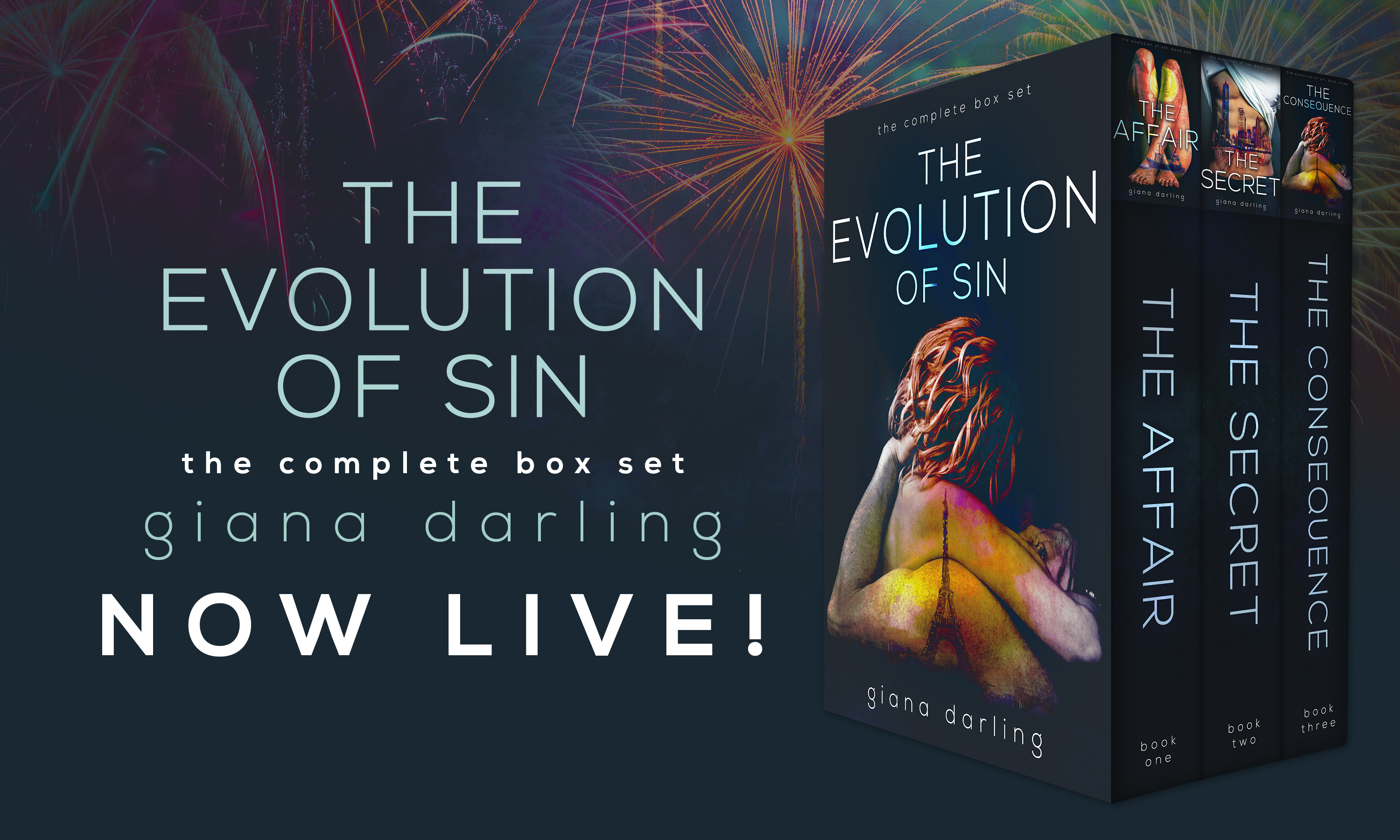 [New Release] THE EVOLUTION OF SIN by Giana Darling @GianaDarling @TheNextStepPR #Giveaway