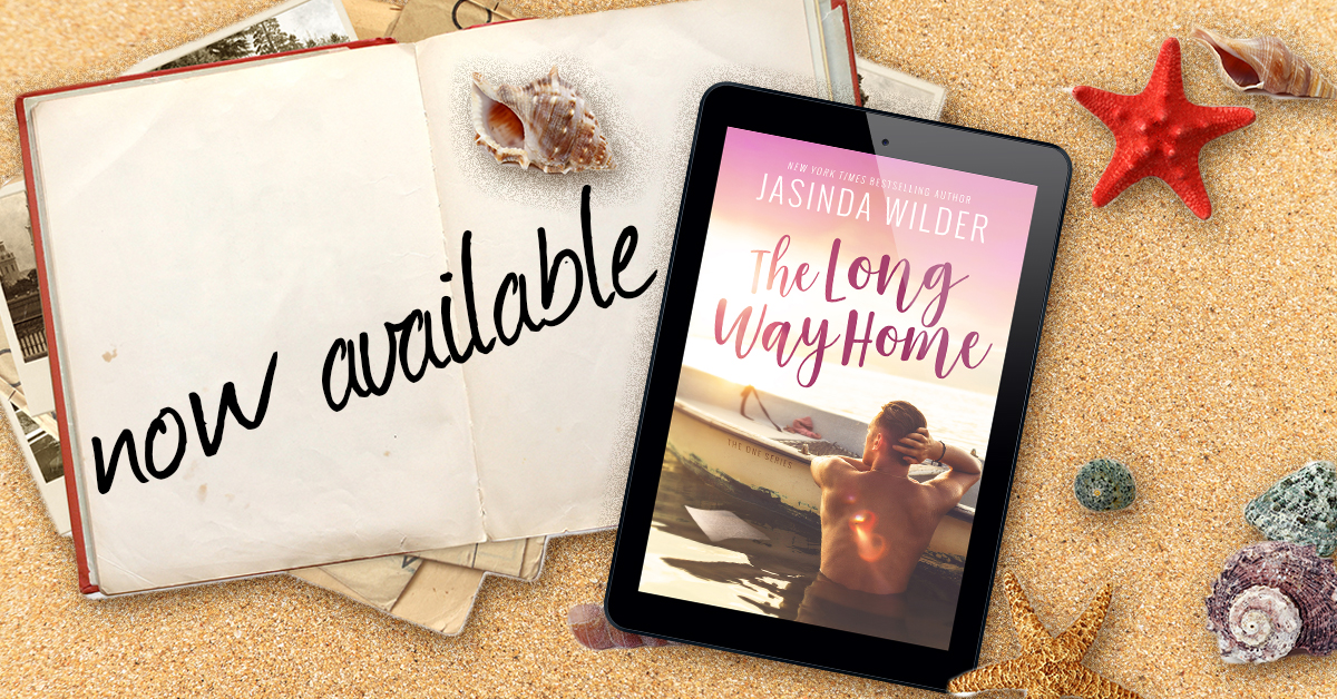 A Long Way Home by Jasinda Wilder Release Review + Giveaway