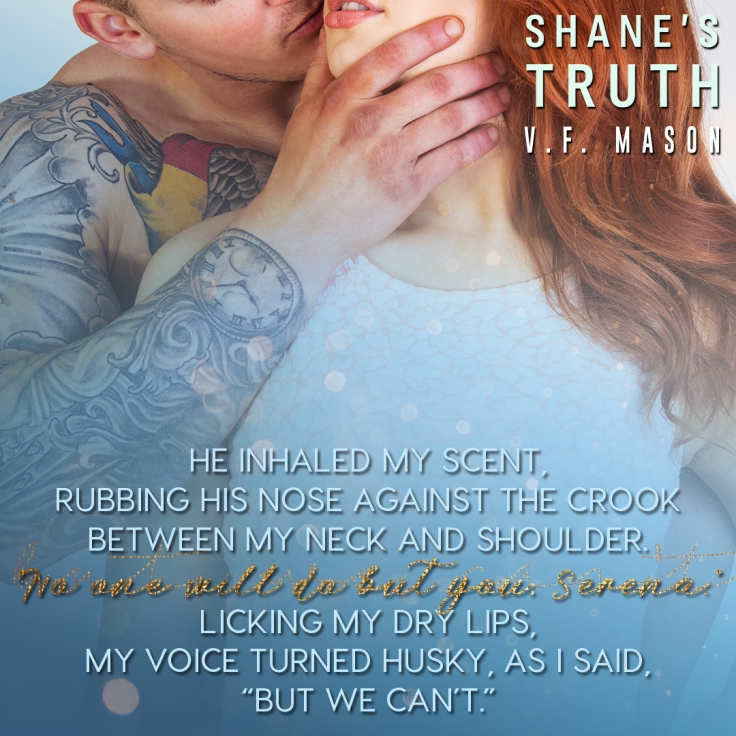 RELEASE DAY & AUG 15 Shane's Truth
