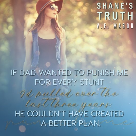 RELEASE DAY & AUG 29 Shane's Truth