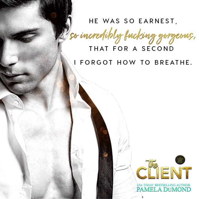 Release day 1 _ September 21 The Client Pamela DuMond Teaser 2