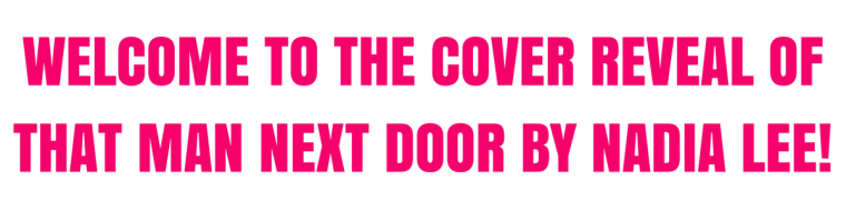 THAT MAN NEXT DOOR - CR