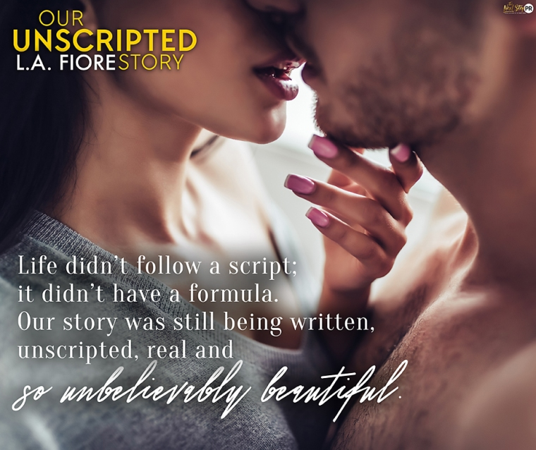 Release Day Teaser | April 10 Our Unscripted Story