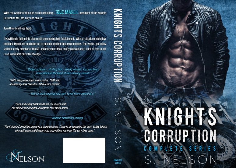 Knights Corruption Complete Series cover- full jacket