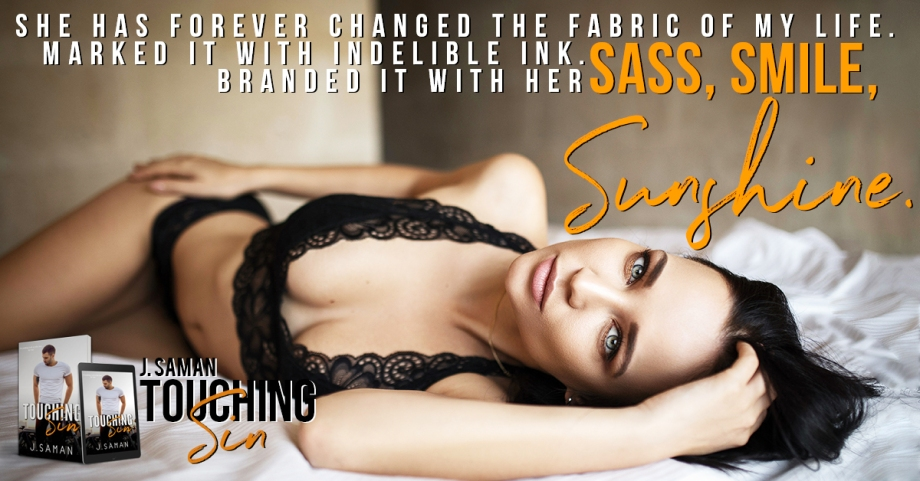 Release Day Teaser #2 Touching Sin J. Saman