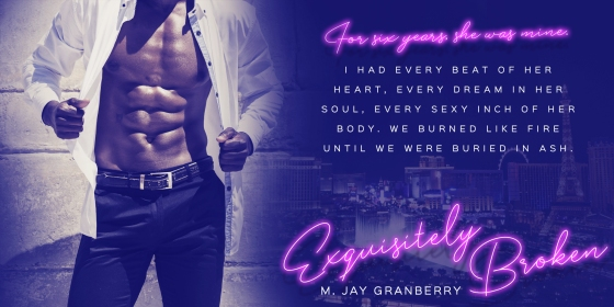 April 23 Exquisitely Broken M JAY GRANBERRY Teaser
