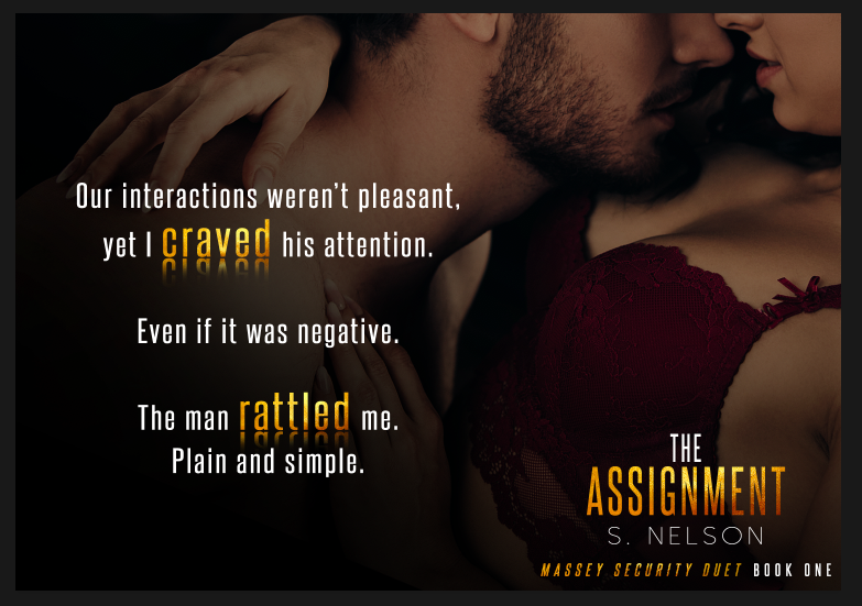 April 30 The Assignment - S. Nelson Teaser