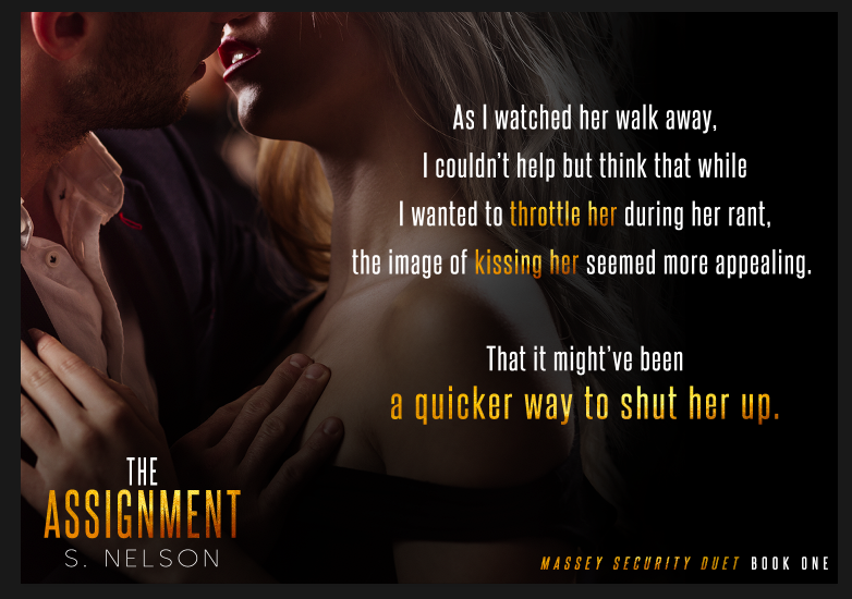 May 8 The Assignment - S. Nelson Teaser
