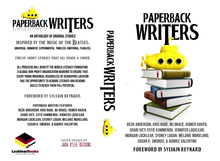 Paperback Writers Anthology Book Cover