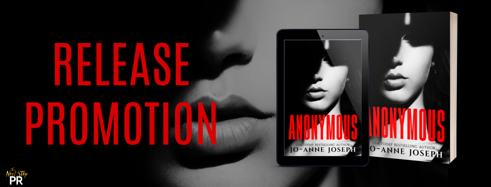 Anonymous By Jo-anne Joseph - Release Promotion - The Clipped Nightingale