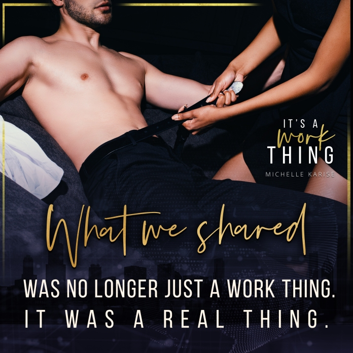 It's A Work Thing - Michelle Karise - Teaser 3