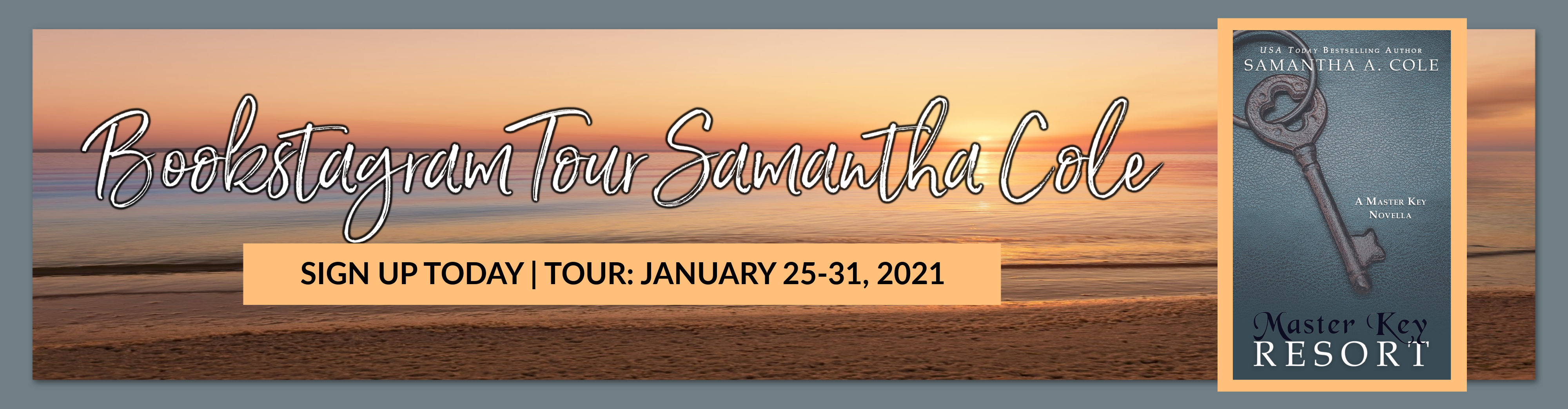BOOKSTAGRAM TOUR SAMANTHA COLE